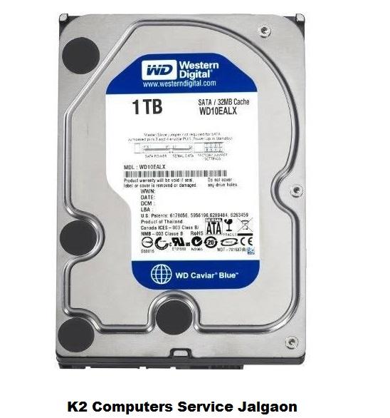 1 TB Desktop HDD | K2 Computer Service Jalgaon